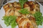 Хачапури с ветчиной и сыром