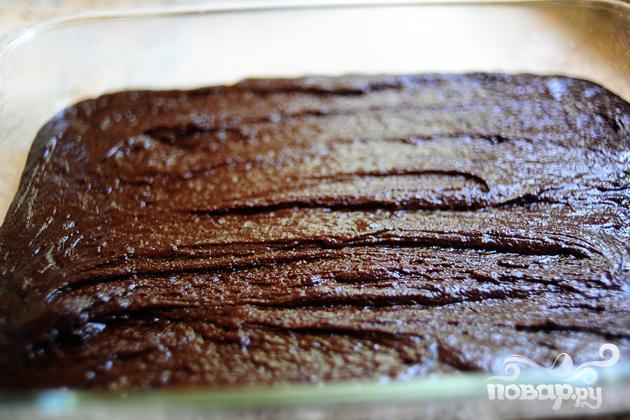 Шоколадные пирожные в глазури