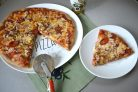 Пицца с томатным соусом без сахара и крахмала