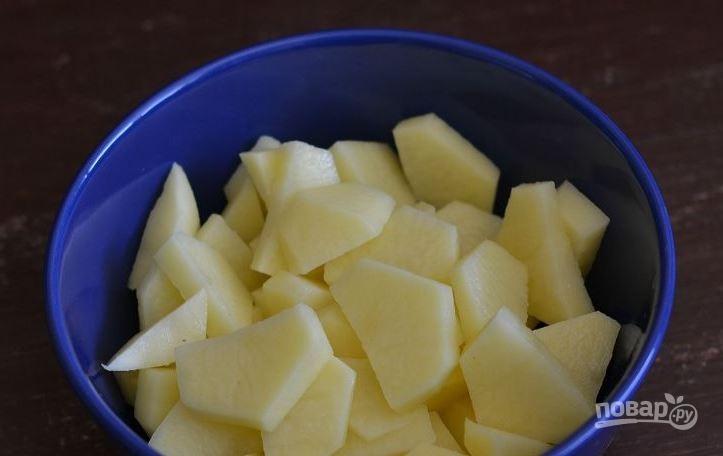 Полтавский борщ с галушками