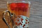 Чай с малиной и мелиссой