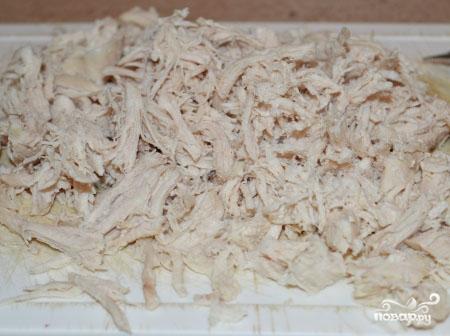 Курица с фасолью и грибами