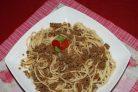 Спагетти по-флотски с фаршем