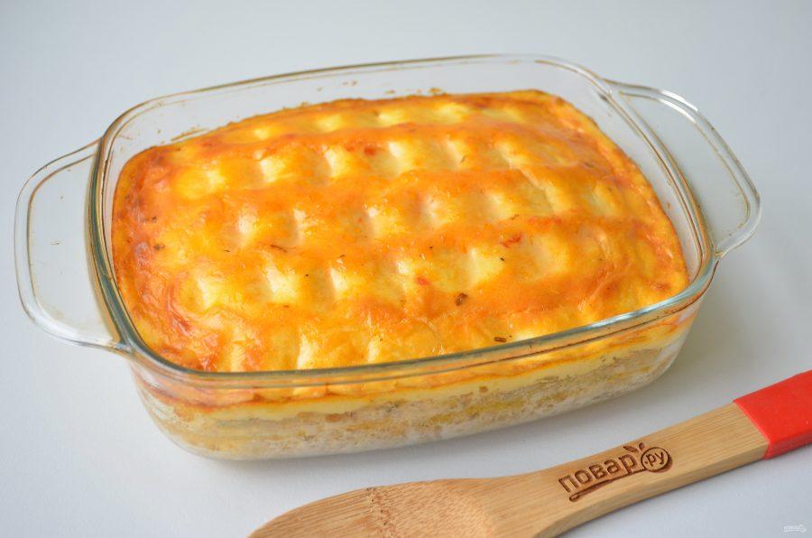 Картофельная запеканка из духовки