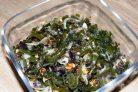 Салат из маринованной морской капусты