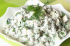 Легкий и быстрый салат Леди без майонеза