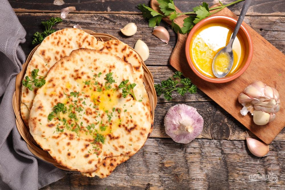 Блюда индийской кухни рецепт лепешки #6
