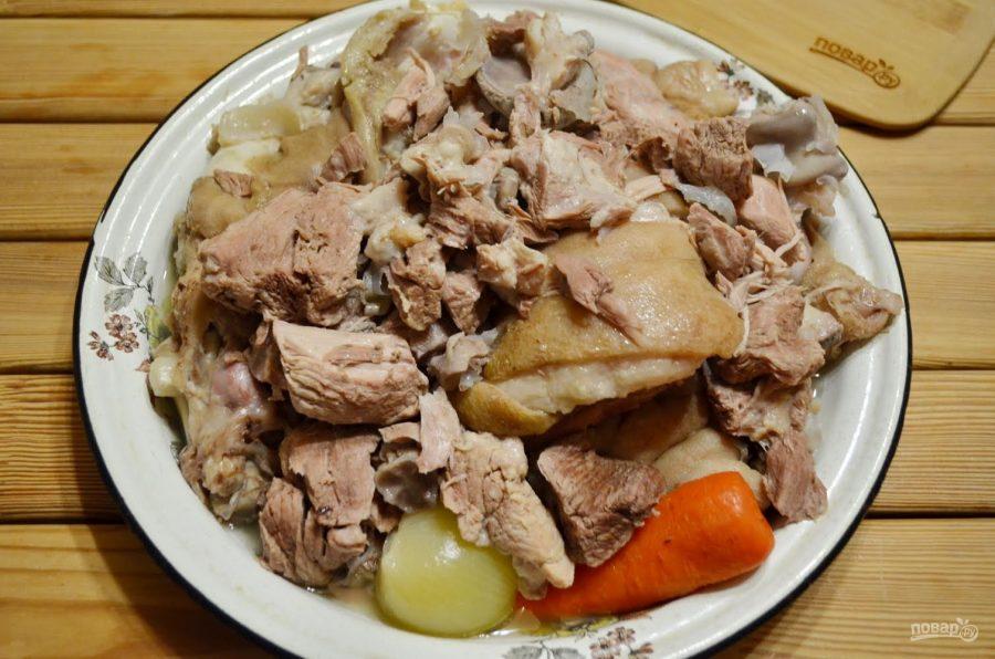 Холодец из свинины и говядины