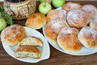 Диетические творожные булочки в духовке