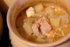 Индейка с картошкой в горшочке