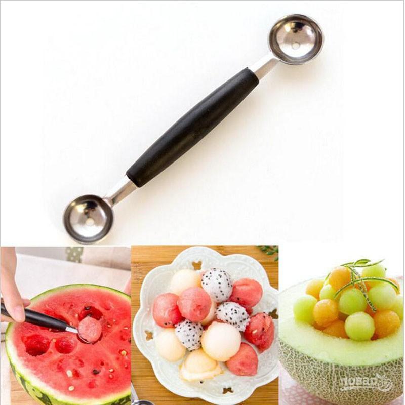 Ложка для мороженого и фруктов