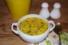 Гороховый суп с сыром