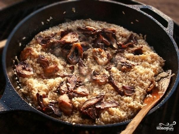 белые грибы с рисом рецепты
