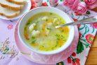 Овсяный суп с цветной капустой