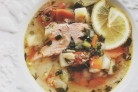 Рыбный суп в мультиварке