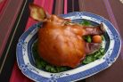 Свиная голова запеченная в духовке