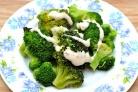 Сколько варить брокколи замороженную на пару