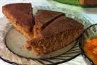Пирог с айвовым вареньем