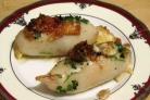 Кальмары с сыром в духовке