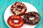 Пончики с глазурью (3 вида)