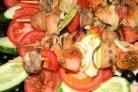 Шашлычки из индейки на шпажках в духовке