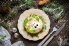 Салат с ветчиной и корейской морковью на год Быка