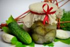 Салат из огурцов и лука на зиму