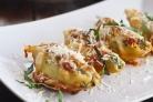 Фаршированные макароны Ракушки с сыром и шпинатом