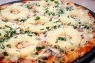 Рецепт пиццы с ананасами
