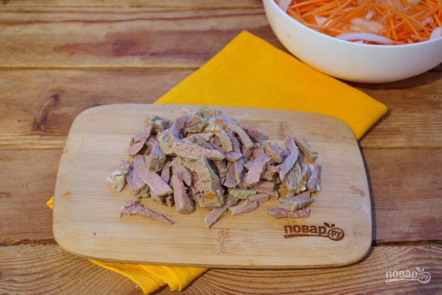 Блюда из мяса хе по-корейски