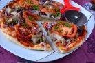 Пицца без мяса и колбасы