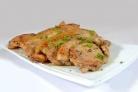 Свиная корейка на сковороде