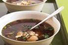 Быстрый суп с грибами и ячменем