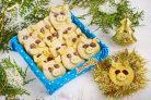 Новогоднее печенье Хрюшки