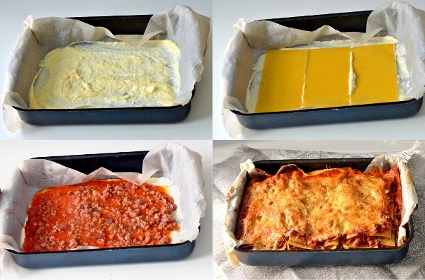 рецепты лазаньи бельонез и бешамель