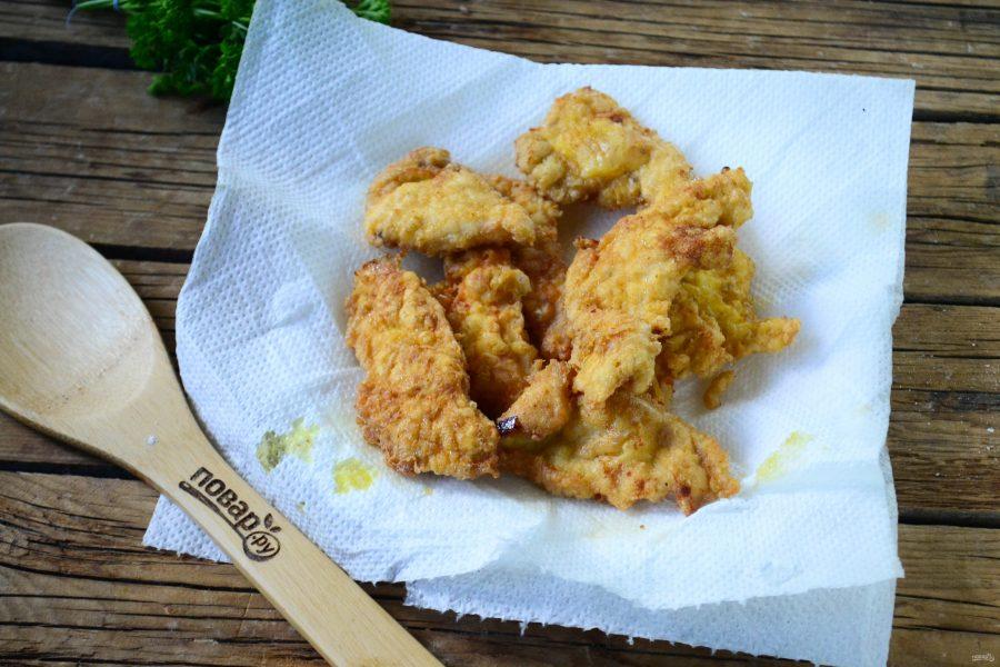 Чипсы из куриного филе