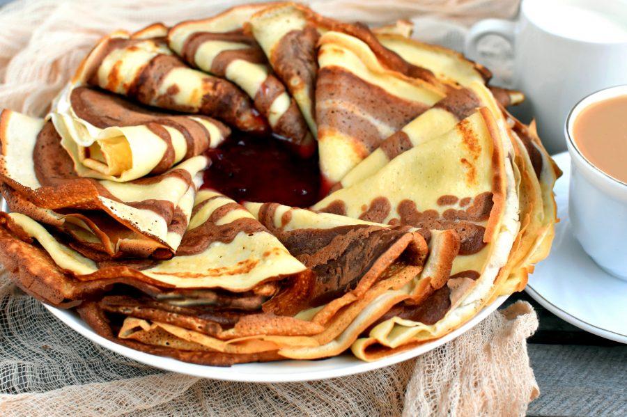 расположилась десертные блины рецепт с фото нарисовал красивую понятную