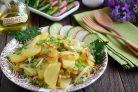 Картофель с луком