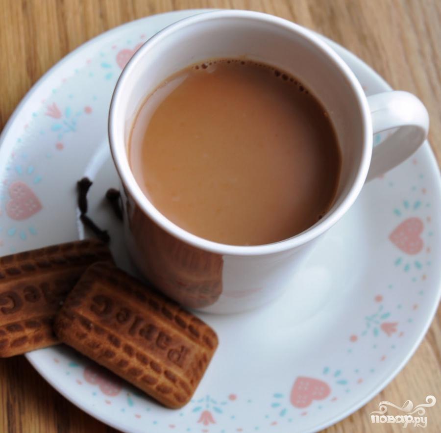 Индийский имбирный чай