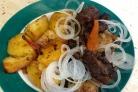 Казан кебаб с картошкой