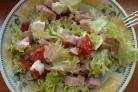 Крабовый салат с ветчиной