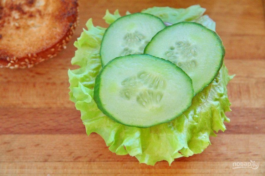 Вегетарианский бургер (мастер-класс)