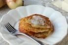 Деруны картофельные с мясом