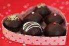 Шоколадное печенье к Дню влюбленных