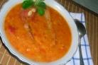 Суп из копченых свиных ребрышек