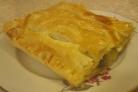 Слоеное бездрожжевое тесто с капустой