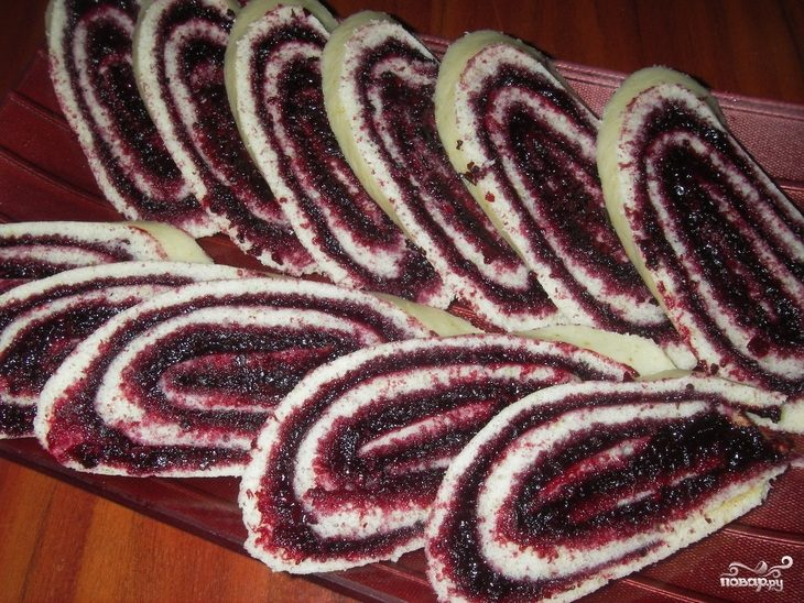 рецепты торт рулета сказка #17