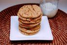Сахарное печенье с беконом