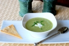 Суп из кресс-салата