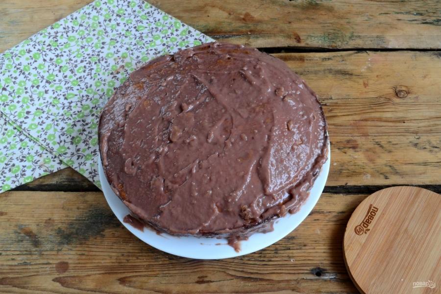 Быстрый шоколадный торт (очень легко готовить)